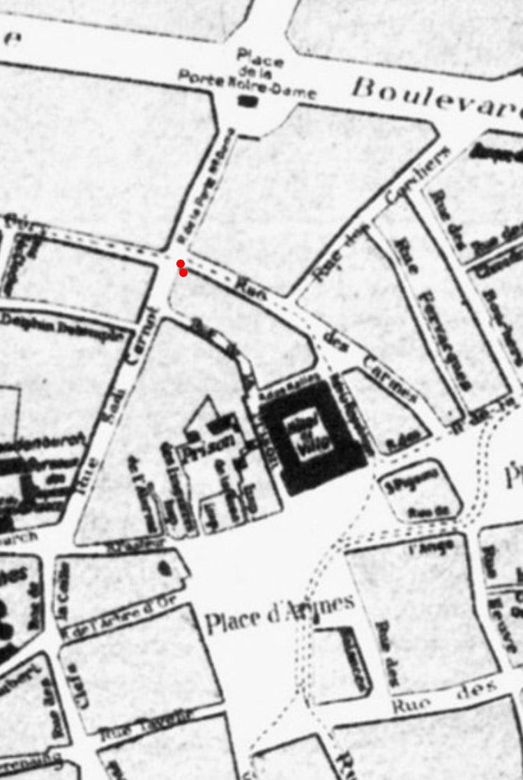 Plan Cambrai avant 1914