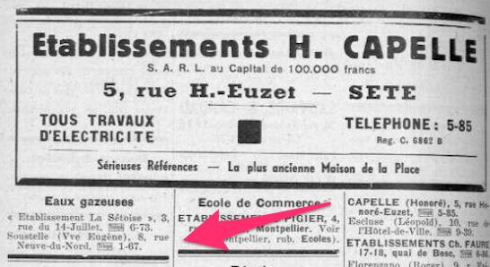 dictionnaire de l'Hérault 1938